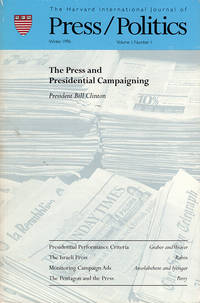 Press/Politics (Winter 1996, Volume 1, Number 1)