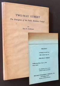 Two-Way Street: The Emergence of the Public Relations Counsel (Review Copy)