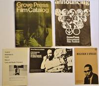 image of Grove Press Film Catalog with Five Associated Pamphlets
