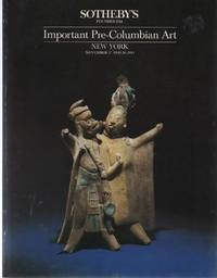 Important Pre-Columbian Art, November 27 and 28, 1984