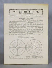 image of Occult Life, February, 1930