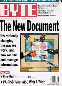 image of BYTE Magazine: August 1994