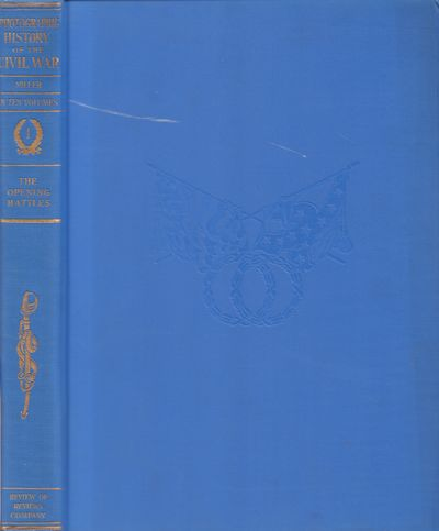 New York: The Review of Reviews Co.. Very Good. Hardcover. Ten volume set. Blue cloth boards with gi...