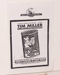 image of Fruit Cocktail: Tim Miller in a new full-evening performance [playbill]