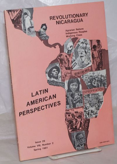 Riverside, CA: Latin American Perspectives, 1981. Paperback. 99p., wraps, 7x10 inches, wraps lightly...