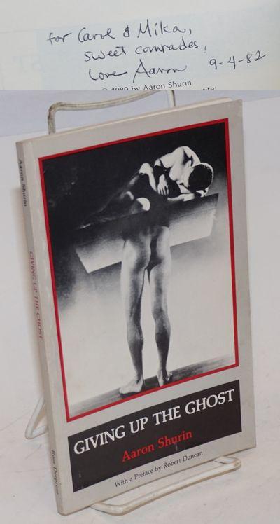 San Francisco: Rose Deeprose Press, 1980. Paperback. 79p., vpersonal inscription signed by the poet ...