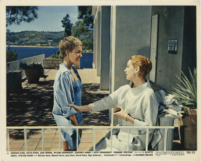 Culver City, CA: Columbia Pictures, 1958. Collection of three vintage studio still color photographs...