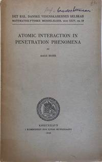 Atomic Interaction in Penetration Phenomena.