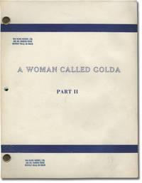 image of A Woman Called Golda: Part II (Original teleplay script for the 1982 television movie)