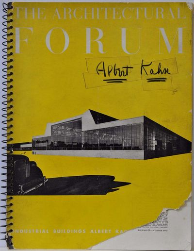 New York, NY: Architectural Forum, 1938. Book. Good+ condition. Paperback. Signed by Author(s). Firs...