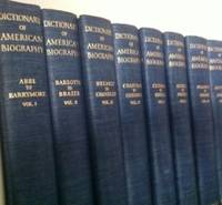 Dictionary of American Biography [21 volumes]