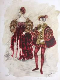 Ballet Costumes; Costume croquis