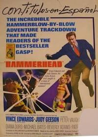 Hammerhead. Movie poster.