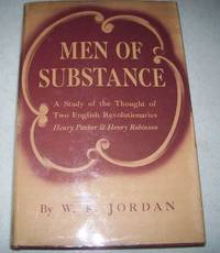 image of Men of Substance: A Study of the Thought of Two English Revolutionaries, Henry Parker and Henry Robinson
