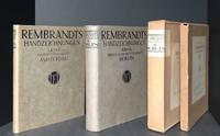 Rembrandts Handzeichnungen. I. Band Rijksprentenkabinet zu Amsterdam. II. Band Königl. Kupferstichkabinett zu Berlin. (2 volumes) [Rembrandt's Drawings Volume I, 1912  and Volume II, 1914]