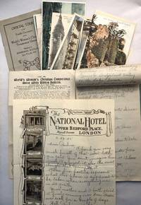[Ephemera Related to Temperance Convention in Edinburgh, 1925, Followed by a Tour Around Britain and the Continent]