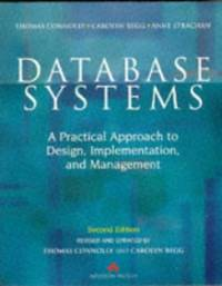 image of Database Systems: A Practical Approach to Design, Implementation, and Management (International Computer Science Series)