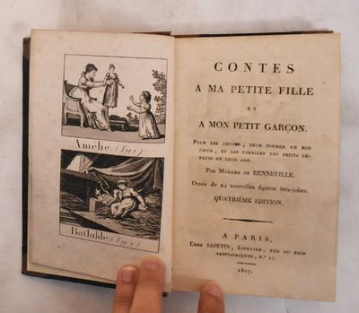 Paris: Saintin, 1817. 4th edition. Hardcover. VG (pages of text and illustrations are very good with...
