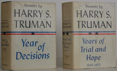 Doubleday, 1955. 1st Edition. Hardcover. Very Good/Very Good. A first edition set of the former Pres...
