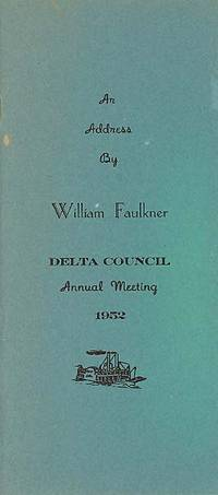 Cleveland, Miss: Delta State Teachers College Campus, 1952. First edition. The text of a speech by F...