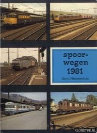 Spoorwegen 1981 by  Gerrit Nieuwenhuis - Paperback - 1981 - from Klondyke and Biblio.co.uk