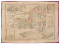 Squire's Map of the State of New York, Containing all the Towns in the State