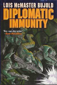 Diplomatic Immunity by Lois McMaster Bujold - first - 2002 - from Bujoldfan (SKU: 030820039780743435338cvr)