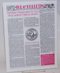 IGLA Bulletin: #10, Spring/Summer, 1994
