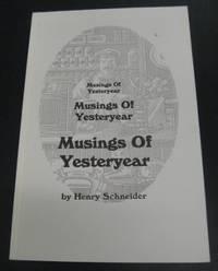 Musings of Yesteryear