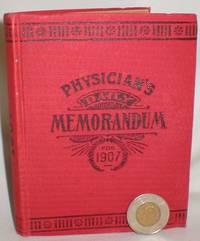 Physician's Daily Memorandum for 1907
