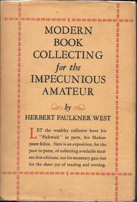 image of MODERN BOOK COLLECTING For The IMPECUNIOUS AMATEUR