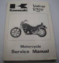 image of Kawasaki Vulcan VN750 Twin Motorcycle Service Manual 1984 (2005)