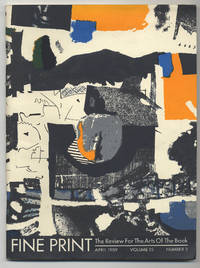 image of Fine Print: Volume 15, Number 2, April, 1989