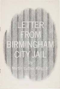 LETTER FROM BIRMINGHAM CITY JAIL [wrapper title]