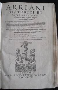Peripilus Ponti Euxini & Maris Erthræi.  Historici et Philosophi Ponti Euxini & Maris Erythræi  Periplus, ad Adrianum Caesarem..