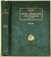 image of REPORT OF TRANSIT COMMISSIONER CITY OF PHILADELPHIA JULY, 1913 Volume II