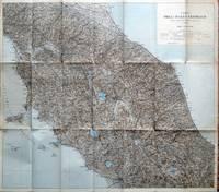 Carta dell\'Italia Centrale annessa alle Guide Regionali del TCCI.