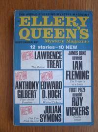 image of Ellery Queen's Mystery Magazine September 1969