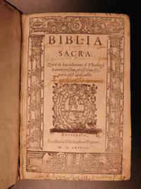 Biblia Sacra. : Quid in hac editione à theologis Louaniensibus præstitum sit, paulo pòst...