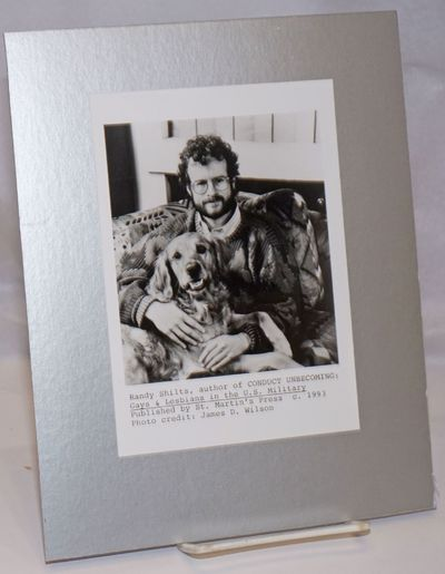 no place: James D. Wilson for St. Martin;s Press, 1993. Photograph. 5x7 inch b&w glossy author photo...