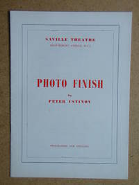 Photo Finish By Peter Ustinov. Theatre Programme.