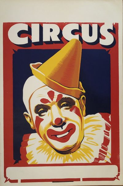 Single sheet lithographic poster measuring 42 x 28 inches. This poster was acquired by a collector f...