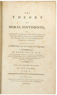 The Theory of Moral Sentiments ... The Seventh Edition