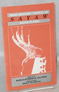 Sayaw: isang sanaysay tungkol sa sayaw Pilipino
