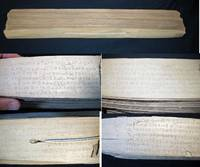 C. 1850 Palm Leaf Buddhist Sutra Book