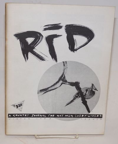 Bakersville, NC: RFD, 1983. Magazine. 68p., 8.25x10.5 inches, poetry, editorials, photos, art, very ...