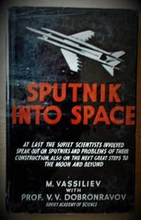 image of Sputnik into Space.