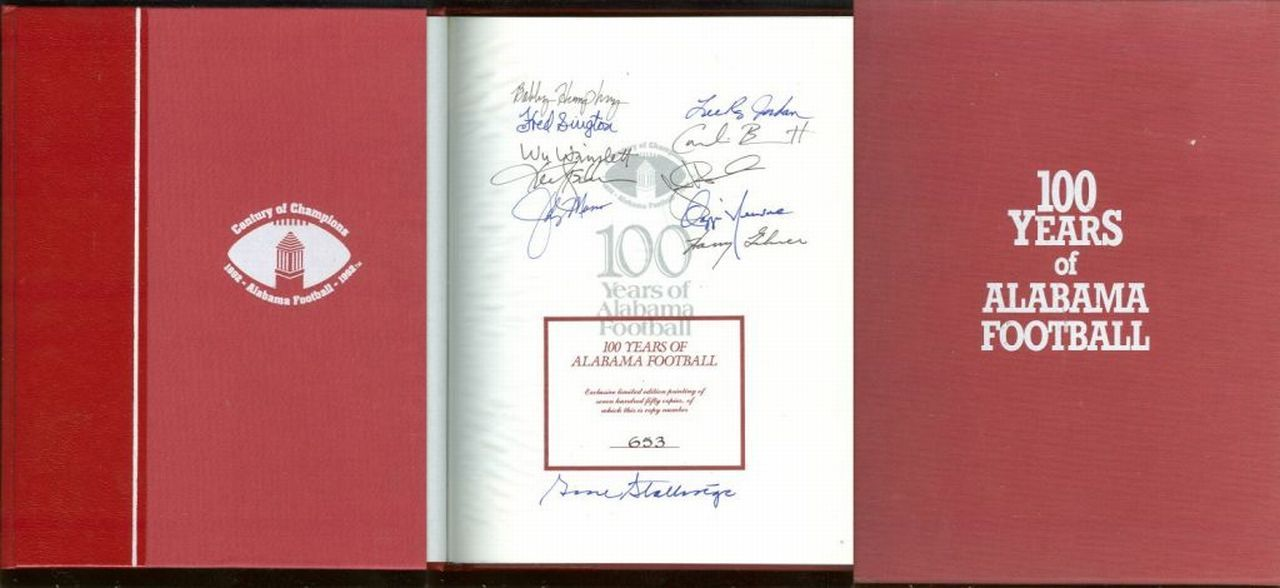 Image for 100 YEARS OF ALABAMA FOOTBALL A Century of Champions 1892-1992 Alabama