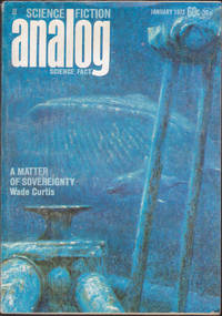 """Analog Science Fiction / Science Fact, January 1972 (Volume 88, Number 5) (""""The Greatest Asset"""" by Issac Asimov)"""
