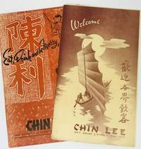 [MENU] CHIN LEE - Welcome & Eat, Drink and be Merry 49th Street & Broadway, New York, N.Y.